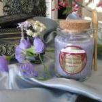 1ea Crystallized Candle 8.5..